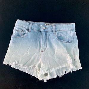 Garage denim shorts size 7